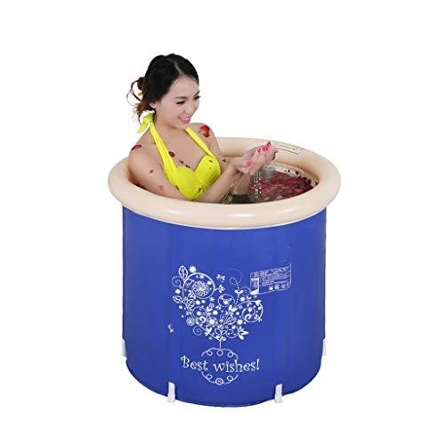 LYM & Faltbare Badewanne aus Kunststoff faltbar Badewanne für Erwachsene Kinder Kinder Holzbadewanne tragbar langlebig leicht zu Falten große Pool zerlegbar