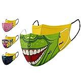 P.A.C. Kids Lightweight Sets Community-Maske, Mund- & Nasenmaske, Behelfsmaske, Alltagsmaske, Waschbar bis 90°, Einfach aufziehen, OEKO-TEX 100, Wiederverwendbar