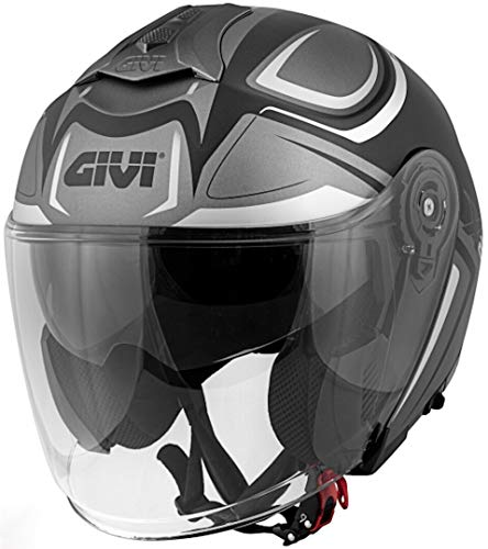 Casco Uomo Jet Planet Hyper Moto Givi Helmet Jet Taglia L HX22FHYBL60