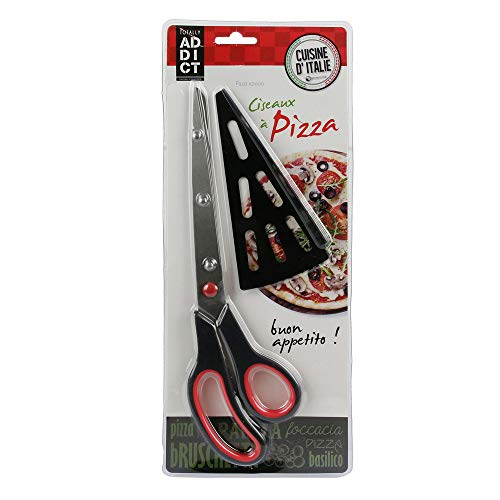 Easy Make kd3138 Tijeras de Pizza Rojo/Verde 27,4 x 7,7 x 1,5 cm