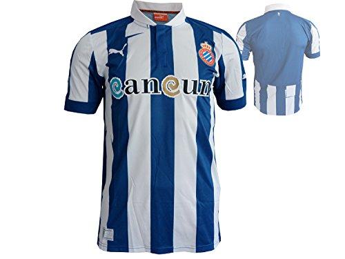 PUMA Herren Fußballtrikot Espanyol Home Replica, True Blue-White, S, 743024 01