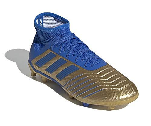 adidas Niño Predator 19.1 FG J Zapatos de Fútbol Gold, 35.5