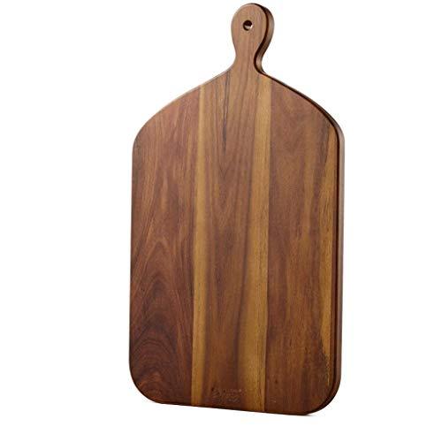 ZTMN Snijplank, kleine comfortabele greep fruit snijplank massief hout Mini Sticky Board babyvoeding Pizza Board (grootte: 39x23x1,5 cm)