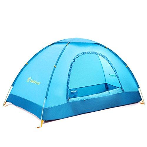 tente de camping en plein air en plein air à double couche unique tente de camping tente de camping automatique