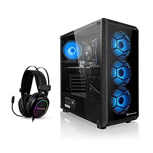Megaport Gaming-PC AMD Ryzen 5 3500X 6x3.60 GHz • GeForce RTX3060 12GB • Windows 10 • 16GB 3000MHz RAM • 2TB HDD • Megaport Gaming Headset • WLAN
