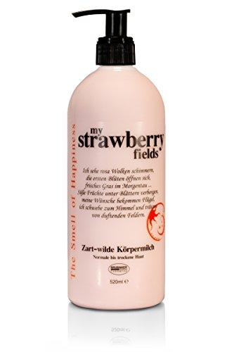 "BRUBAKER Happiness \""My Strawberry Fields\"" Body Lotion Erdbeer, 520 ml"