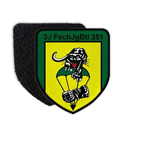 Copytec Patch 3 Fallschirmjägerbataillon 251 FschJgBtl Panther Kompanie Calw BW #30089