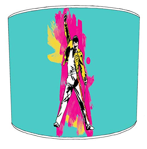 Premier Lighting Ltd 10 inch Queen Freddie Mercury Rock Bands paralumi7 per Una Lampada da Tavolo