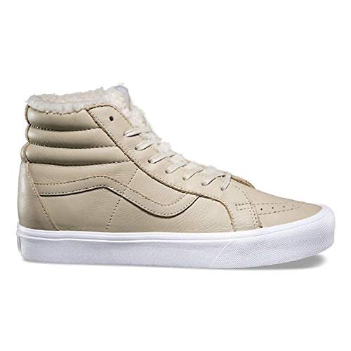 Vans SK8 Hi Lite Reissue Sherpa Cement/True White Men's Shoes Size 8.5