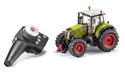 siku 6882, Ferngesteuerter Claas Axion 850 Traktor, 1:32, Inkl. Fernsteuermodul, Metall/Kunststoff, grün, Batteriebetrieben, Kompatibel mit Anbaugeräten
