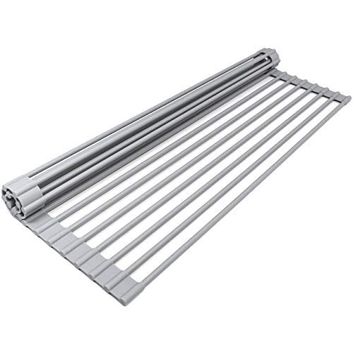 Sorbus Roll-Up Dish Drying Rack [Large 20.5