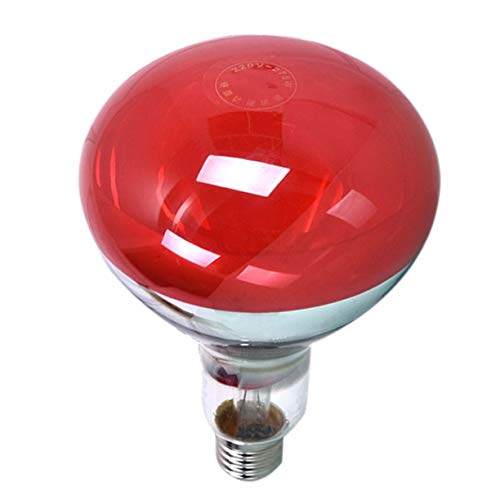 Sagladiolus 275W Bombilla infrarroja de calor para terapia de salud alivio del dolor lámpara terapéutica portátil durable lámpara bulb-rojo