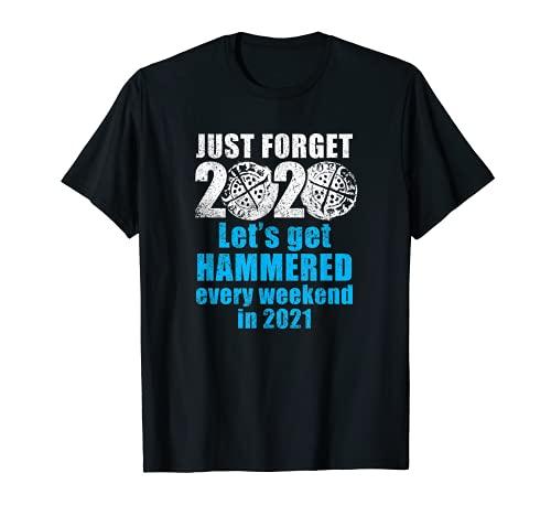 Divertida moneda martillada 2020 detectoristas de metales Camiseta