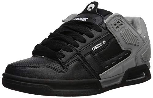 Osiris Men's Peril Skate Shoe, Grey/White/Black, 5.5 M US