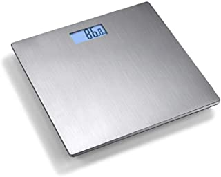 HJTLK Báscula de baño Digital, Báscula de baño Báscula de baño, Balanza de Peso Digital Inteligente para el hogar con Pantalla LCD retroiluminada, 180 kg