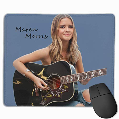 Kundenspezifisches Mousepad Maren Morris Gitarren-Mauspad Pro Office Laptop & PC Mousepad für Schlafzimmer