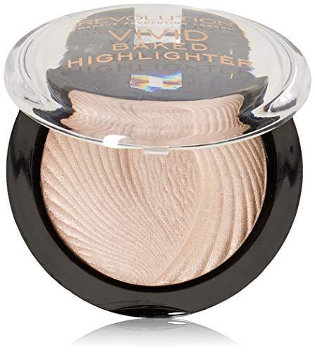 Makeup Revolution - Poudre pour le Visage surbrillance - Vivid Baked Highlighter - Pèche
