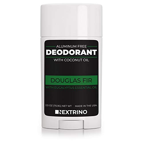 All Natural Aluminum Free Deodorant - Made in the USA with Coconut Oil & Essential Oils for Women and Men - Vegan, Non-GMO & Organic Ingredients (Douglas Fir)