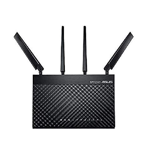 ASUS 4G-AC68U - Router Senza Fili WWAN - Switch a 4 Porte - GigE - 802.11a/b/g/n/AC - Dual Band Servizio Non Incluso