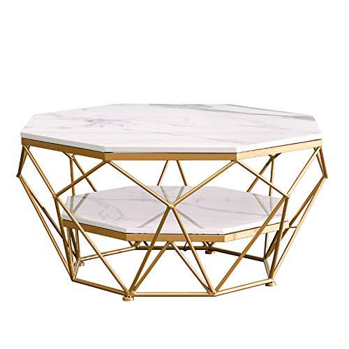 Mesas De Sala De Estar Nordic Modern 2 Animal Table Side, Muebles De Mármol Tablas Laterales De Diferentes Tamaños,Blanco,77