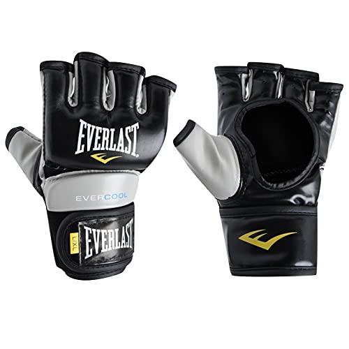 Everlast Unisex Strike Training Kampfsport Handschuhe MMA Schwarz/rot L/XL