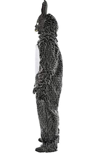 ORION COSTUMES Costume da uomo travestimento Halloween da coniglio nero del film