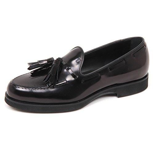 Tod's E4190 Mocassino Donna Black Scarpe Nappine Shoe Loafer Woman [35.5]