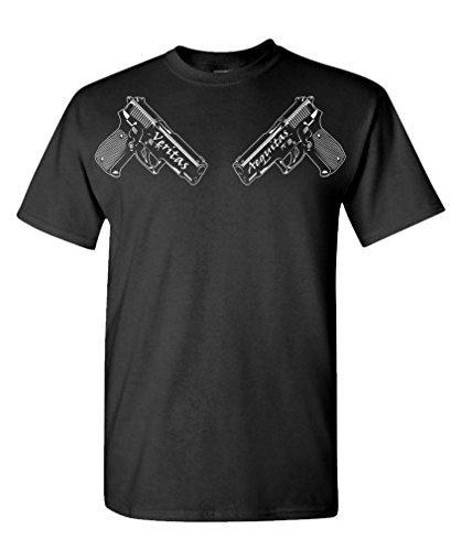Boondock Guns Veritas AEQUITAS - Cult Classic Tee Shirt T-Shirt, M, Black
