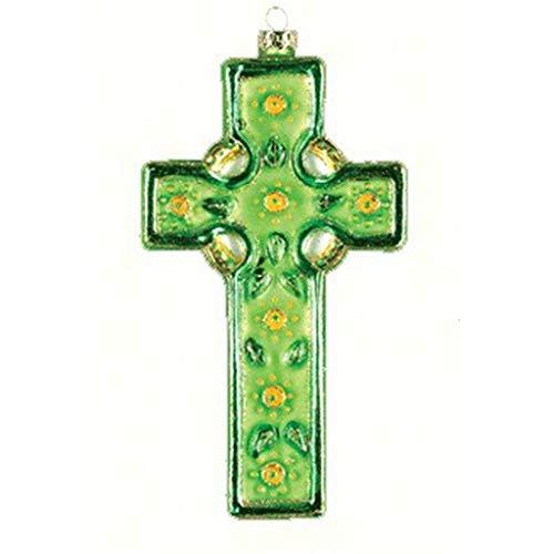 Cobane Studio LLC COBANED359 Celtic Cross Ornament