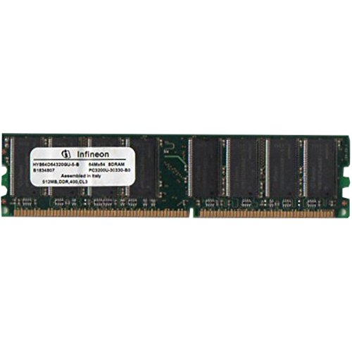 512MB Infineon HYS64D64320GU-5-B DDR1-SDRAM RAM Arbeitsspeicher, BULK, Neuw.