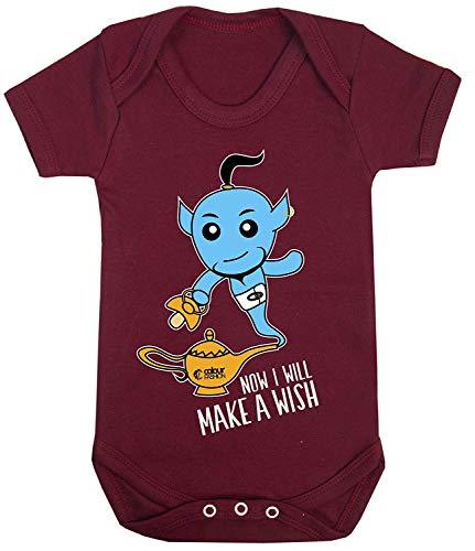 Kleur Mode Aladdin Jinn Cool Print Baby Bodysuits Kostuum Hypoallergeen 100% Katoen
