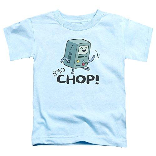 Trevco Temps d'aventure Chop BMO Petits garçons Toddler Chemise (Bleu Clair, 2T)