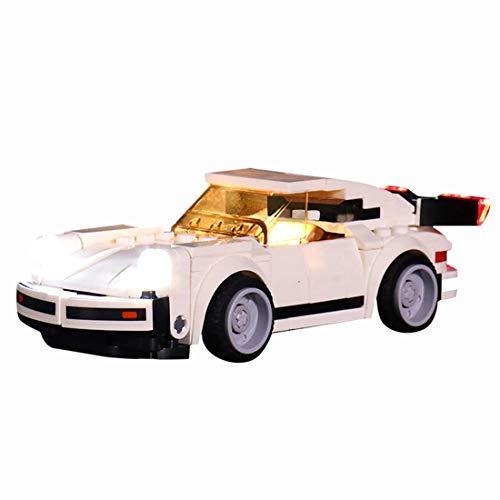 WEEGO Juego de iluminación LED para LEGO Speed Champions 1974 Porsche 911 Turbo 3.0 Light Kit compatible con modelo Lego 75895 (sin set Lego)