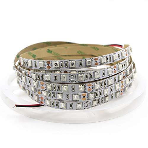 395-405NM Barra LEDUV Black 5050 2.5 Metros 5 Metros SMD Switch Switch Power Lámpara Fluorescente ACDES (Color : 5050, Size : 5m-16.4FT)