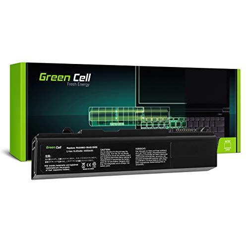 Green Cell Batería para Toshiba Tecra A10-12O A10-131 A10-13B A10-14M A10-14P A10-168 A10-16E A10-1KX A2 A3X A9 M10 M10-11U M10-15J M10-1C5 M10-1CD Portátil (4400mAh 10.8V Negro)