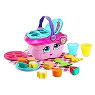 LeapFrog Shapes and Sharing Picnic Basket (Frustration Free Packaging), Pink