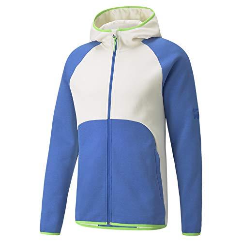 PUMA Men's Dime Jacket, Nebulas Blue/Ivory Glow, L