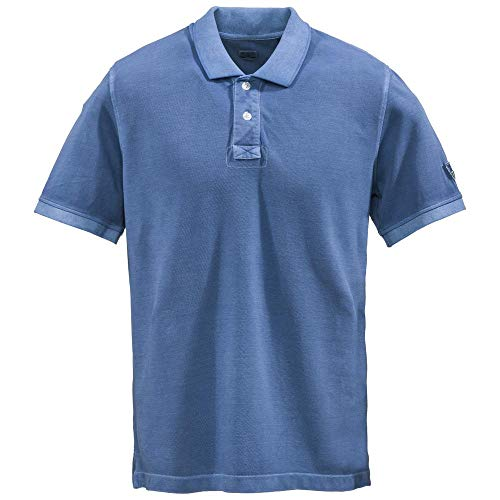 Dolomite Polo Ms Karakorum Prime, Blau (Active Blue), M