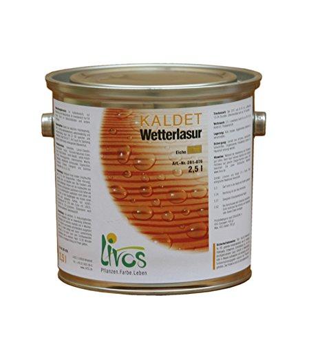 LIVOS 281-054-2,5 KALDET Wetterlasur
