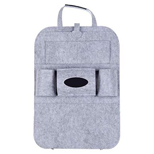 Sac de rangement suspendu pour siège de voiture, sac de rangement arrière, sac de rangement multifonctionnel, sac de rangement