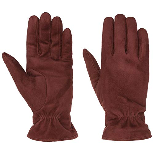 Roeckl Classic Veloursleder Handschuhe Fingerhandschuhe Lederhandschuhe Damenhandschuhe (7 1/2 HS - bordeaux)