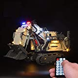 ADMLZQQ Control Remoto Juego de Luces LED para Lego Technic Liebherr R 9800 Excavator 42100, Funciona con USB, no Incluye el Modelo
