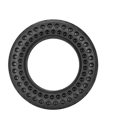 Sankuai 1pc 10 Pulgadas Hueco Hueco Anti-pneumático Anti-punción sin Deslizamiento Rueda de neumático sólido Scooter eléctrico reemplazar el neumático para el neumático X-I-A-O-M-I M365