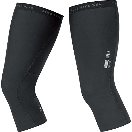 Gore Bike WEAR Windstopper Universal SO Knee Warmers, XS, Black Kentucky
