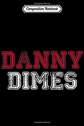 Composition Notebook: Funny New York NY Danny Dimes QB 8 Football Apparel Journal/Notebook Blank Lined Ruled 6x9 100 Pages