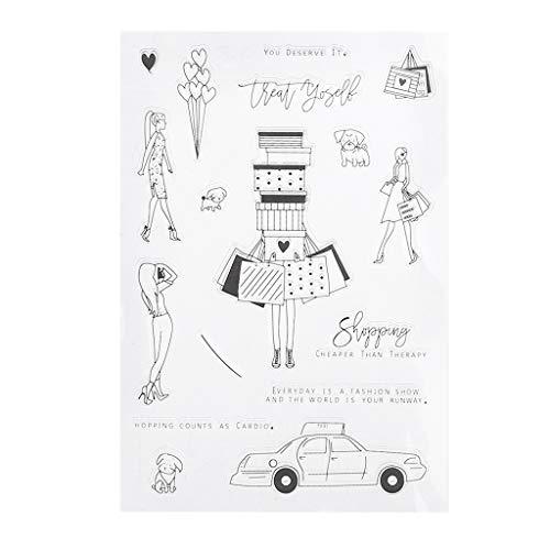 Eliky winkelen Siliconen Clear Stamps Scrapbooking Fotoalbum DIY papier kaart kunsthandwerk decor