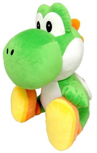 Super Mario Bros. Kuscheltier / Stofftier / Plüsch Figur: Yoshi 50 cm (San-Ei)