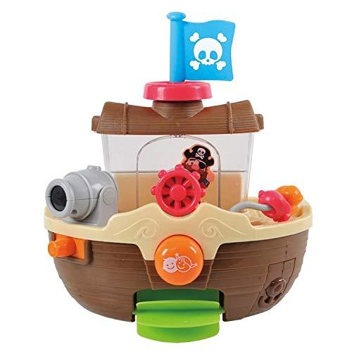 Bavaria Home Style Collection- Baby Bade Bad Schwimmen Badewanne Pool Spielzeug Badespielzeug Piratenschiff für Kinder- ab 6 Monate - Geschenkideen Geburtstag , Ostern , Weihnachten