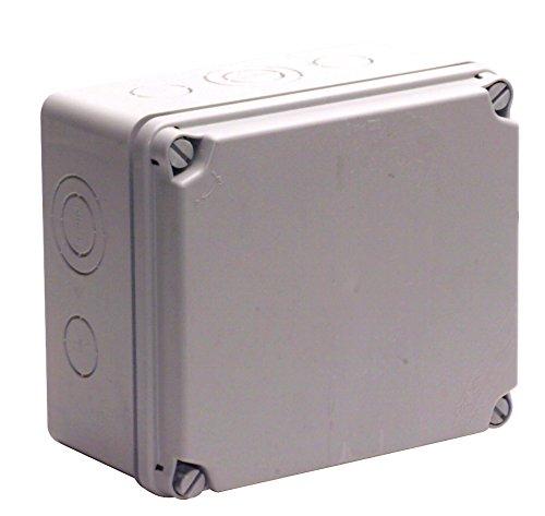 UNITEC 40208L Aufputz-Abzweigkasten IP65, 175 x 151 x 95 mm