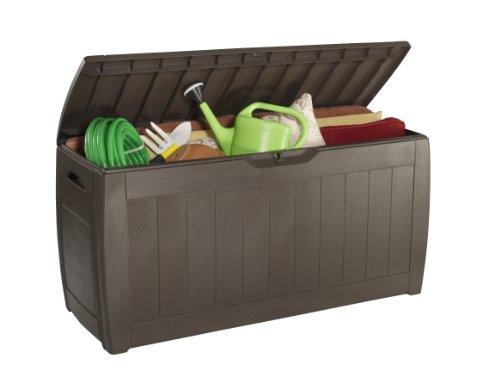 Keter Kissenbox Hollywood Box, braun, 270L, 118cm - 3